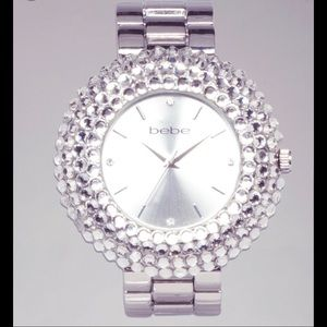 Bebe Women's Metallic Bezel Watch